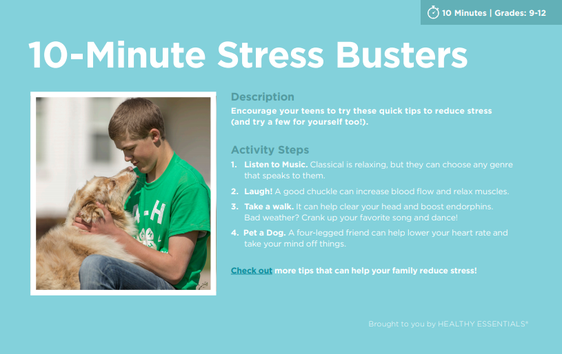 10-Minute Stress Busters