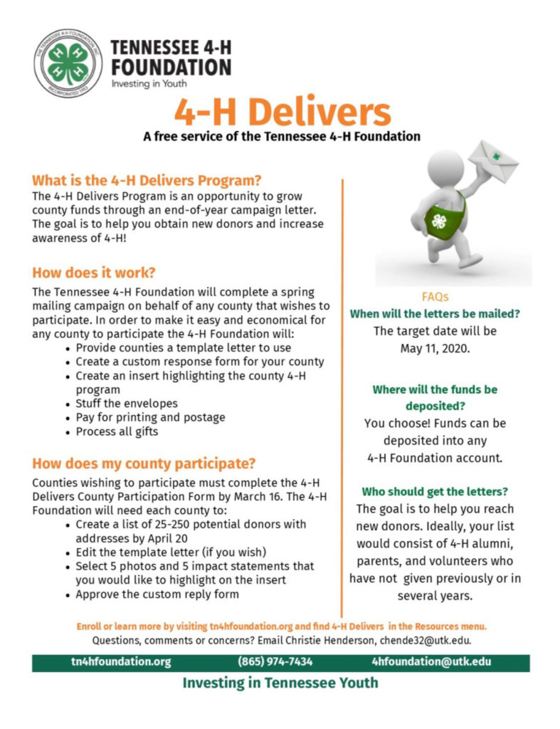 4-H Delivers