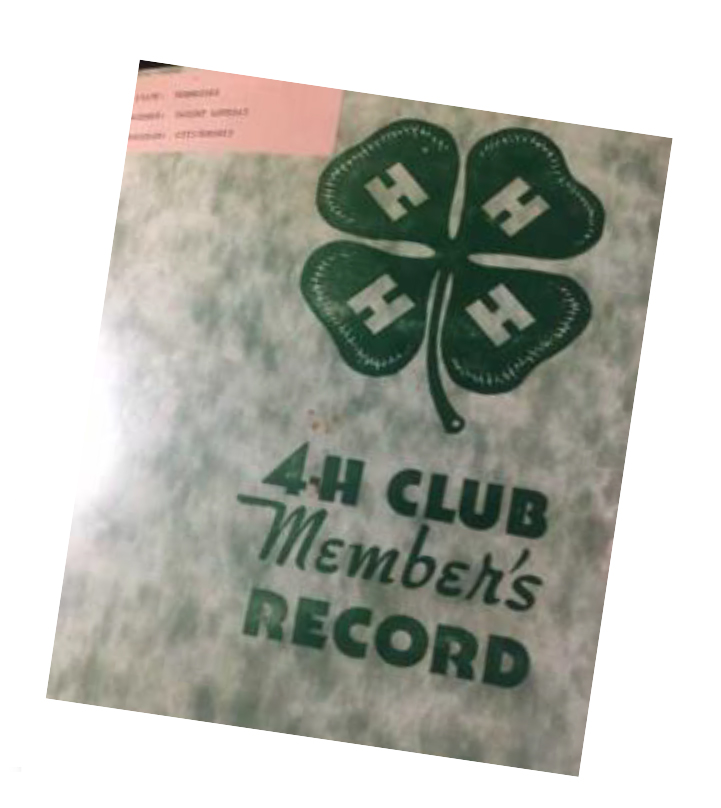 4-H Club Member's Record