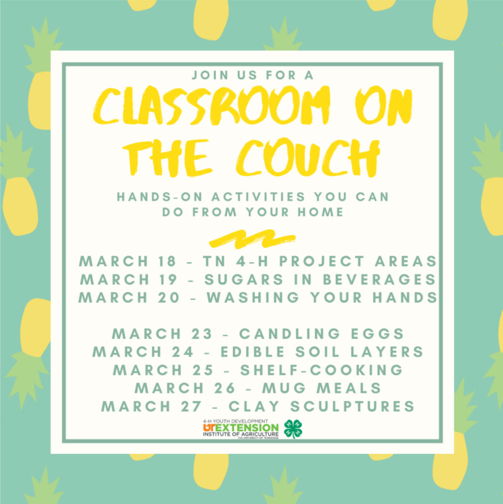 Classroom On The Couch May 23, 2020