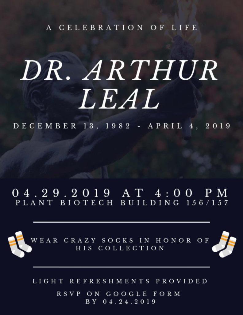 Dr. Arthur Leal Celebration O fLife