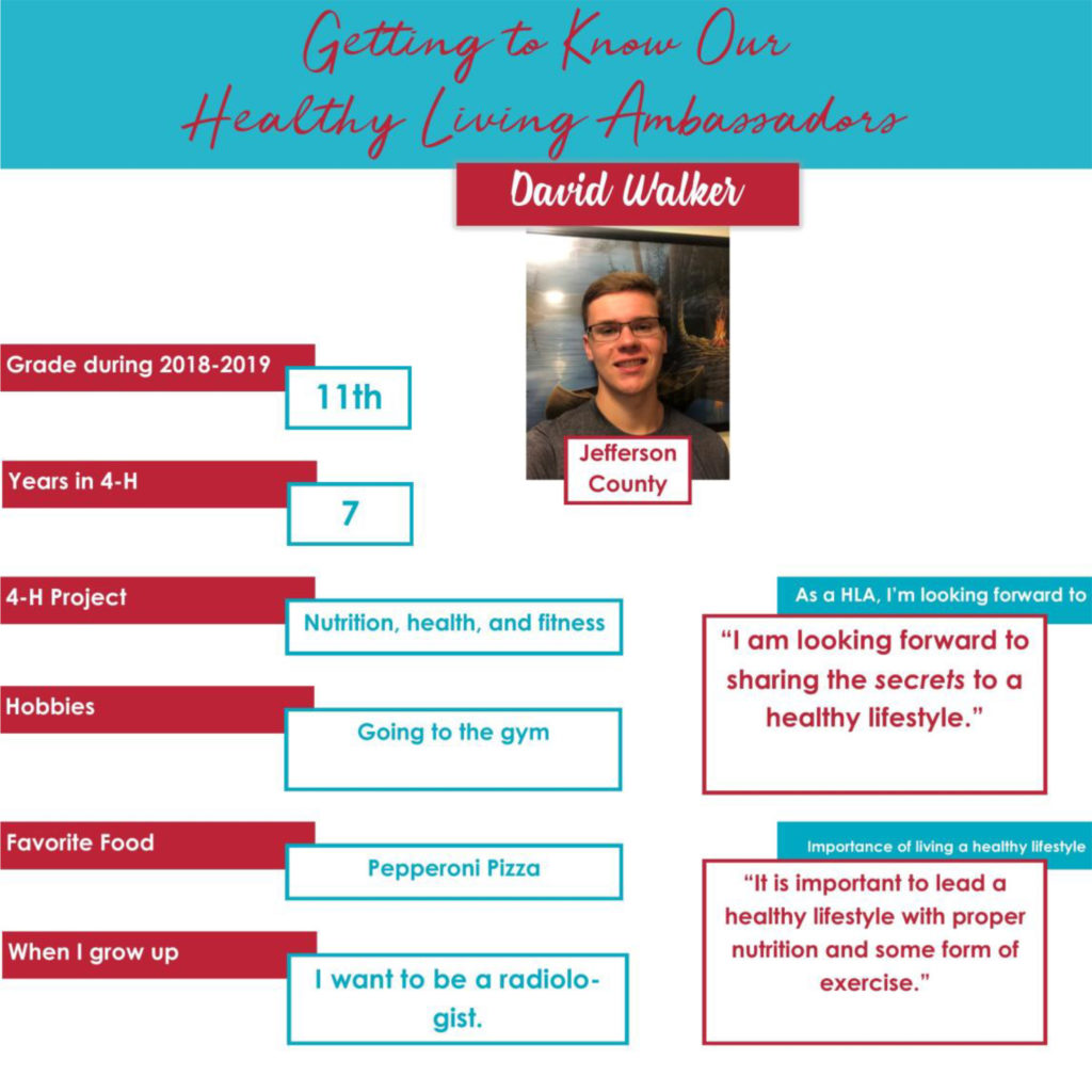 Getting to Know Our Healthy Living Ambassadors: David Walker, Jefferson County