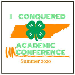 I Conquered Academic Conference Summer 2020