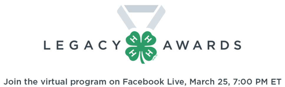 2020 Virtual 4-H Legacy Awards