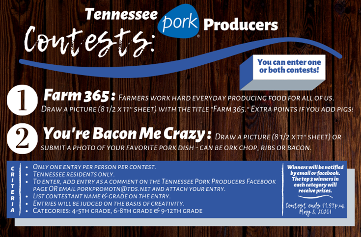 Tennessee Pork Producers Contest