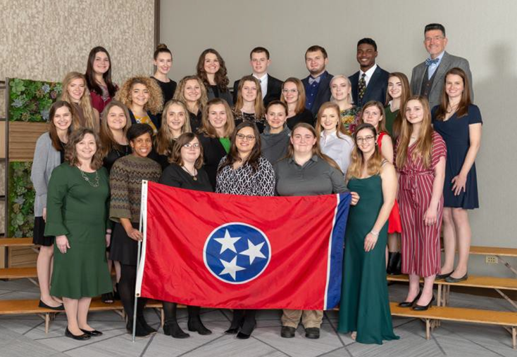 Tennessee Western National Roundup Delegate Photo