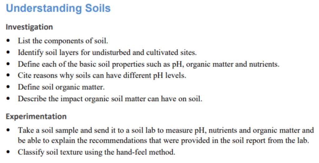 Understanding Soils