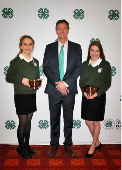 Winners Announced at 72ndT ennessee 4-H Congress