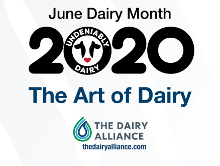 June Dairy Month 2020 - Undeniably Dairy - The Art of Dairy - The Dairy Alliance - thedairyalliance.com