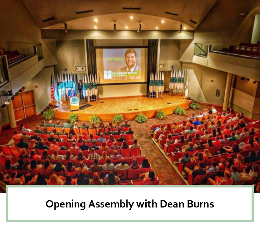 2018 Roundup - Opening Assembly with Dean Burns