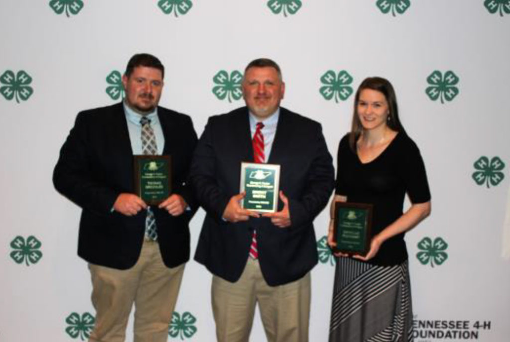 2018 TAE4-HW Service Award Winners George Foster Brent Smith, Grundy County Keith Boone, Hancock County Matt McGinnis, Granger County Rob Augustin, Giles County Thomas Greenlee, Rhea County Danillle Pleasant, Johnson County