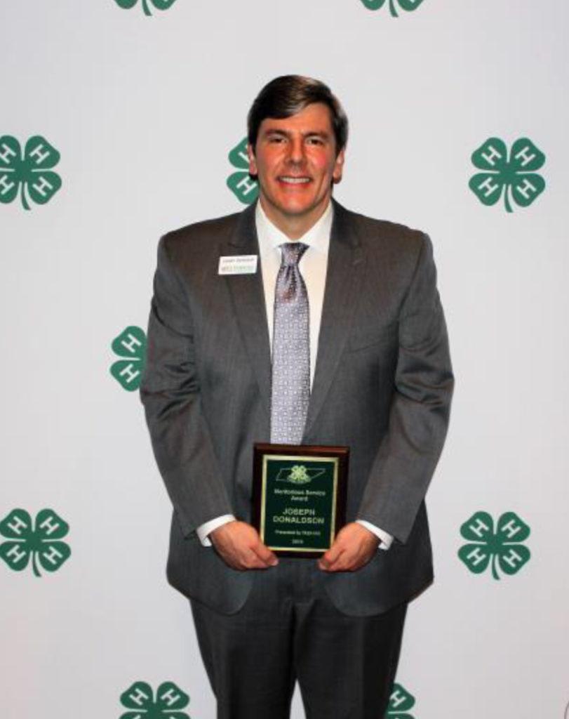 2018 TAE4-HW Service Award Winners - Meritorious Service Award Joseph Donaldson, State