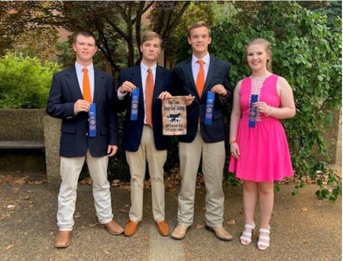 2019 State 4-H Livestock Judging Contest
