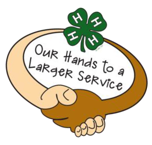 4-H Our Hands To A Larger Service