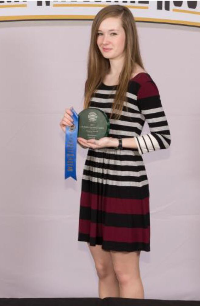 Carlee Cowan - National Winner