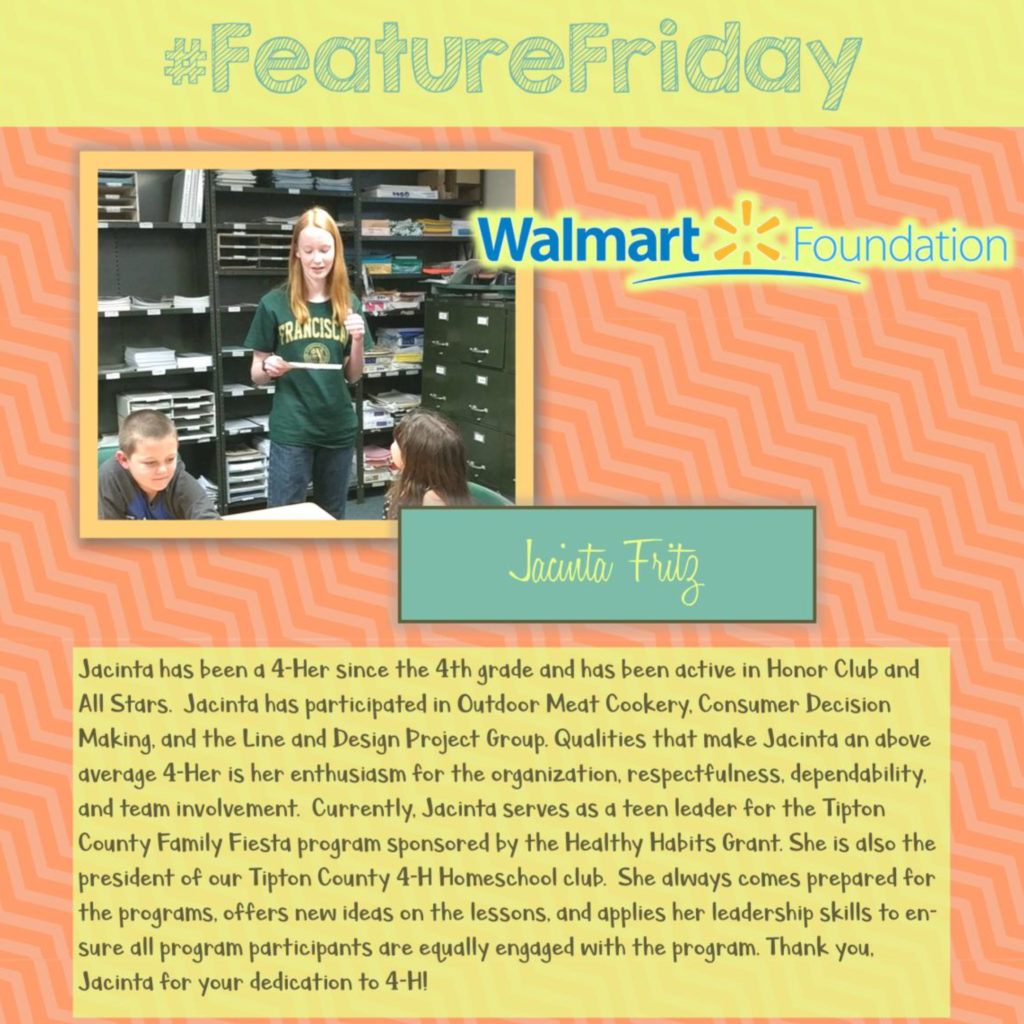 Feature Friday - Jacinta Fritz