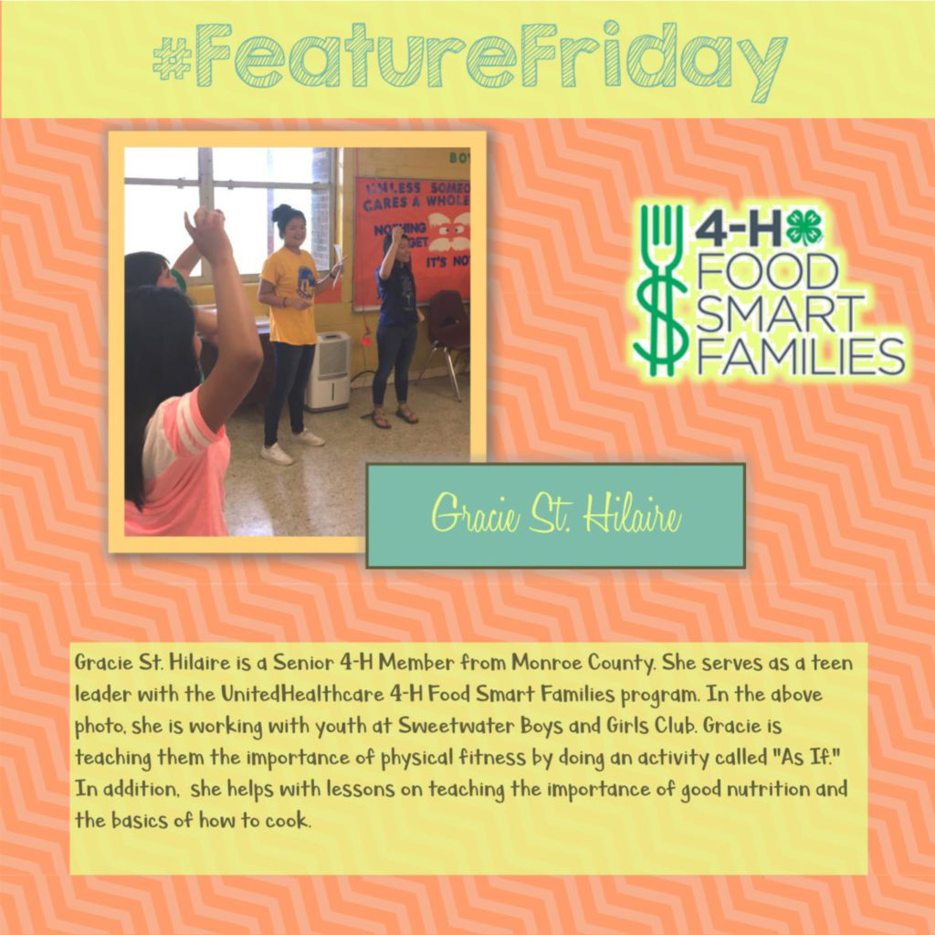 FEATURE FRIDAY - Gracie St. Hildaire