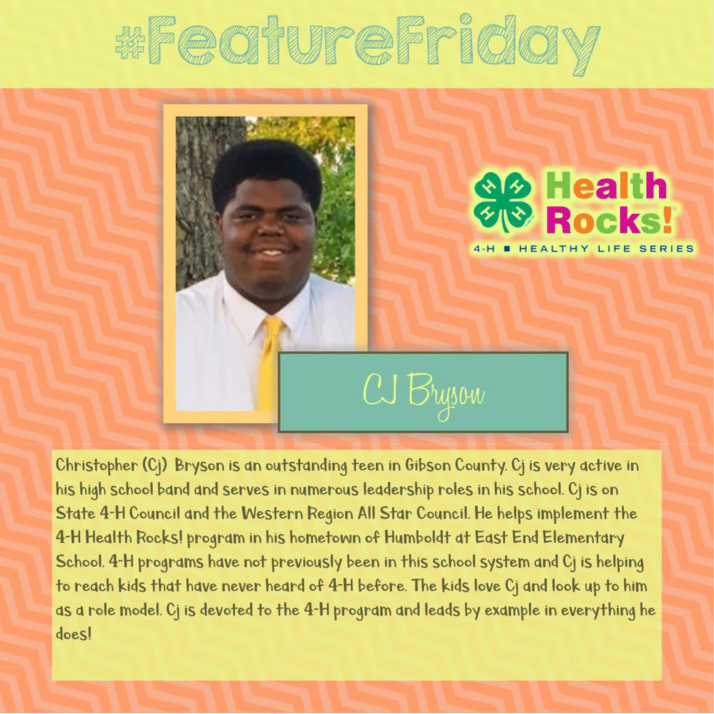 Featured Friday - CJ Bryson