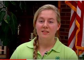 Healthy Living Ambassador Recognized: Ivy Adams, Sumner County