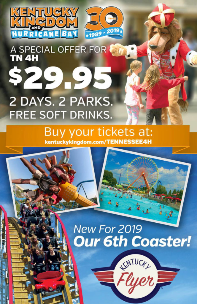 Kentucky Kingdon and Hurricane Bay Special Offer