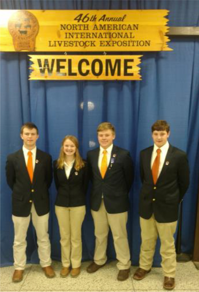 NAILE—Livestock Quiz Bowl