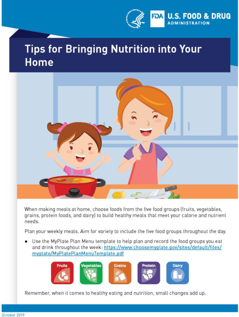 Tips for Bring Nutrition into Your Home