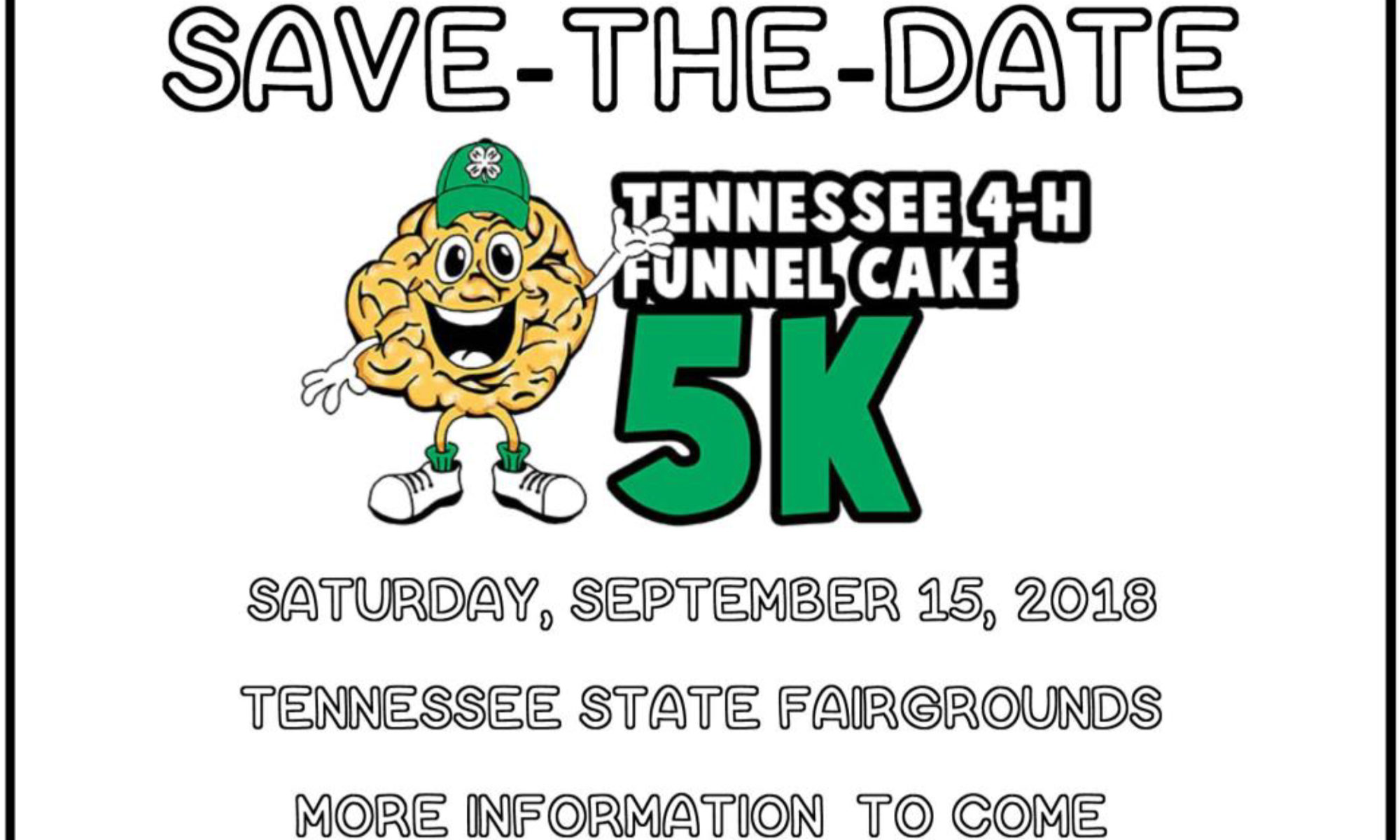 Save-the-Date: Tennessee 4-H Funnel Cake 5K