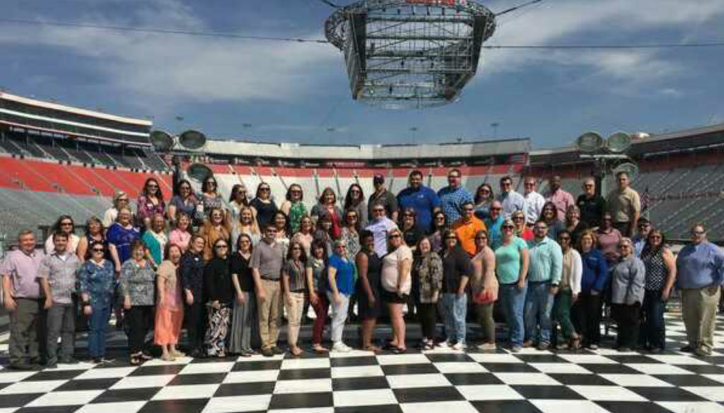 TAE4-HW Conference Attendees @ Bristol Motor Speedway