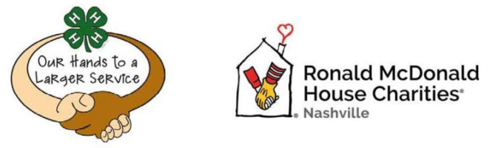 4-H Our Hands to a Larger Service - Ronald McDonald House Charities