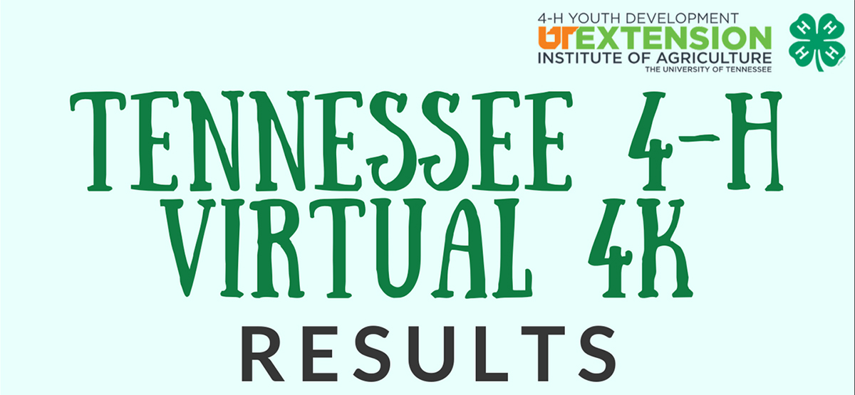 Tennessee 4-H Virtual 4K Results