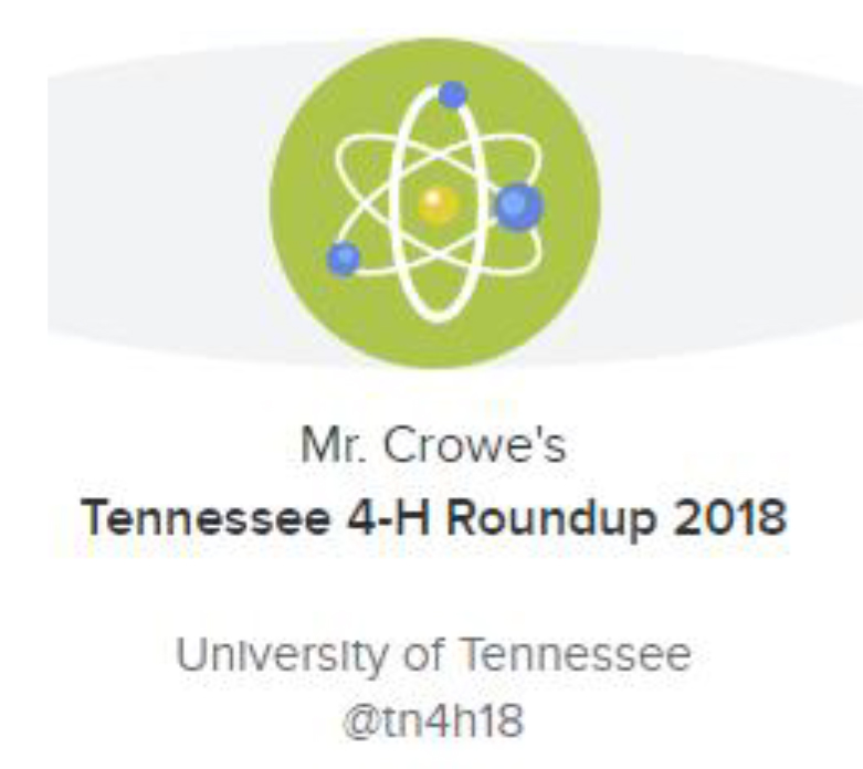 Tennessee 4-H Roundup 2018
