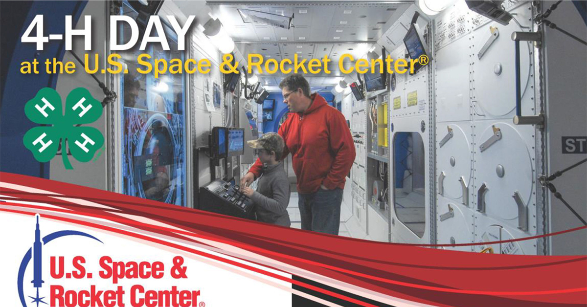 4-H Day at the U.S. Space and Rocket Center