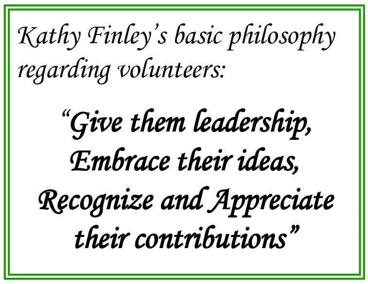 Kathy Finley, 4-H Extension Agent, Robertson County