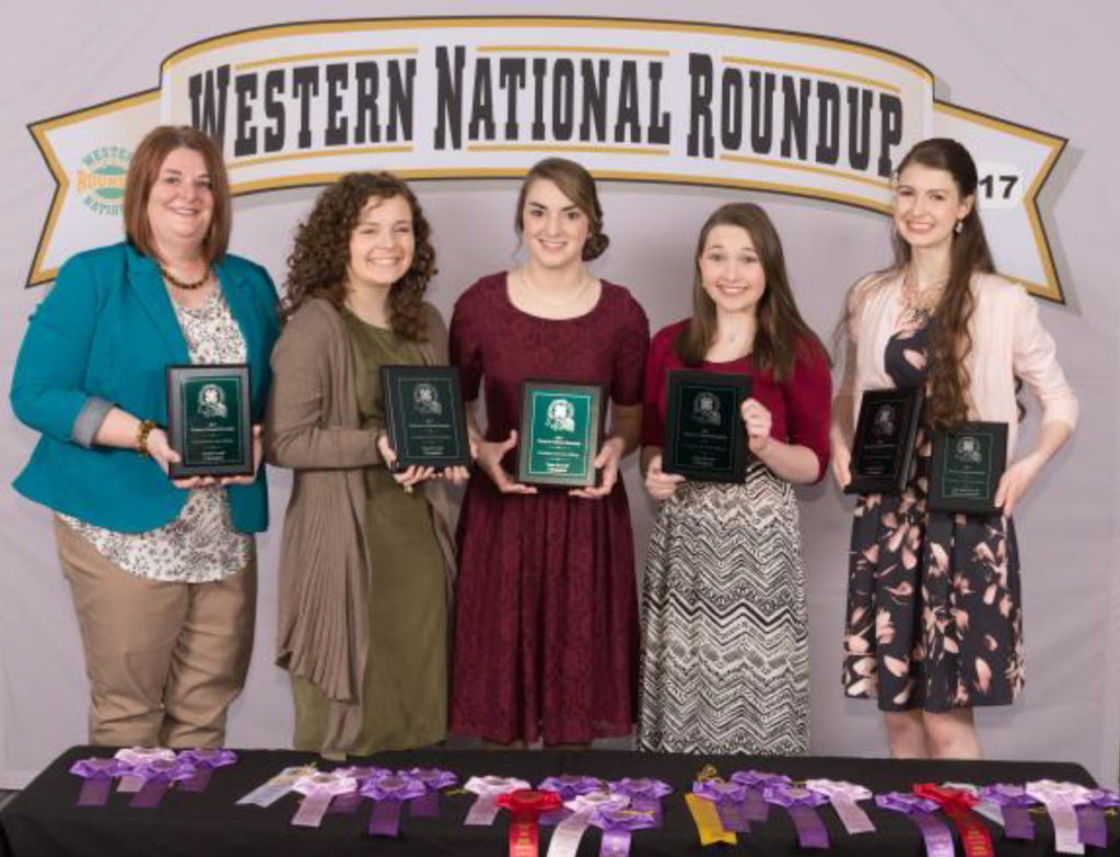 Tennessee Western National Roundup Winners - Putnam County - Consumer Decision Making