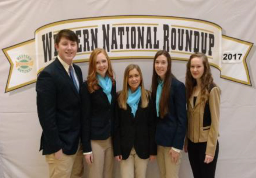 Lincoln County 4-H Members participated in the National Western 4-H Round Up in Denver, CO.