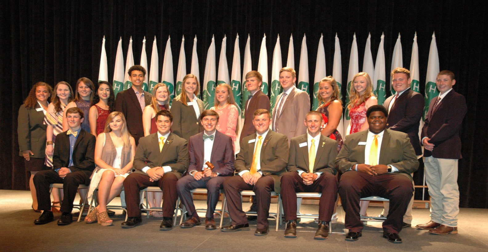 2017-18 STATE 4-H COUNCIL MEMBERS SELECTED AT ROUNDUP - State Council President: Grant Hitchcock, Warren County -- State Council Vice President: Aaron Lay, Monroe County -- Western Region Senior Representative: Autumn Trainum, Henderson County -- Western Region Senior Representative: C.J. Bryson, Gibson County -- Central Region Senior Representative: Jacob Wade, Bedford County -- Central Region Senior Representative: Hence Duncan, Franklin County -- Eastern Region Senior Representative: Danny Lawson, Blount County -- Western Region Junior Representative: Carson Stover, Obion County -- Western Region Junior Representative: Billee Lassiter, Henry County -- Central Region Junior Representative: Emily Pennington, Warren County -- Central Region Junior Representative: Caroline Brooks, Warren County -- Eastern Region Junior Representative: Will Dalton, Grainger County -- Eastern Region Junior Representative: Olivia Chapman-Miller, Morgan County -- Representative – at – Large: Santana Bingham, Madison County -- Representative – at – Large: Nelani Colleti, Williamson County