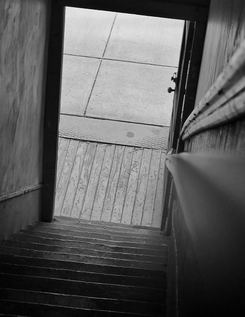 2017 Photo Search - Stairway and Open Door