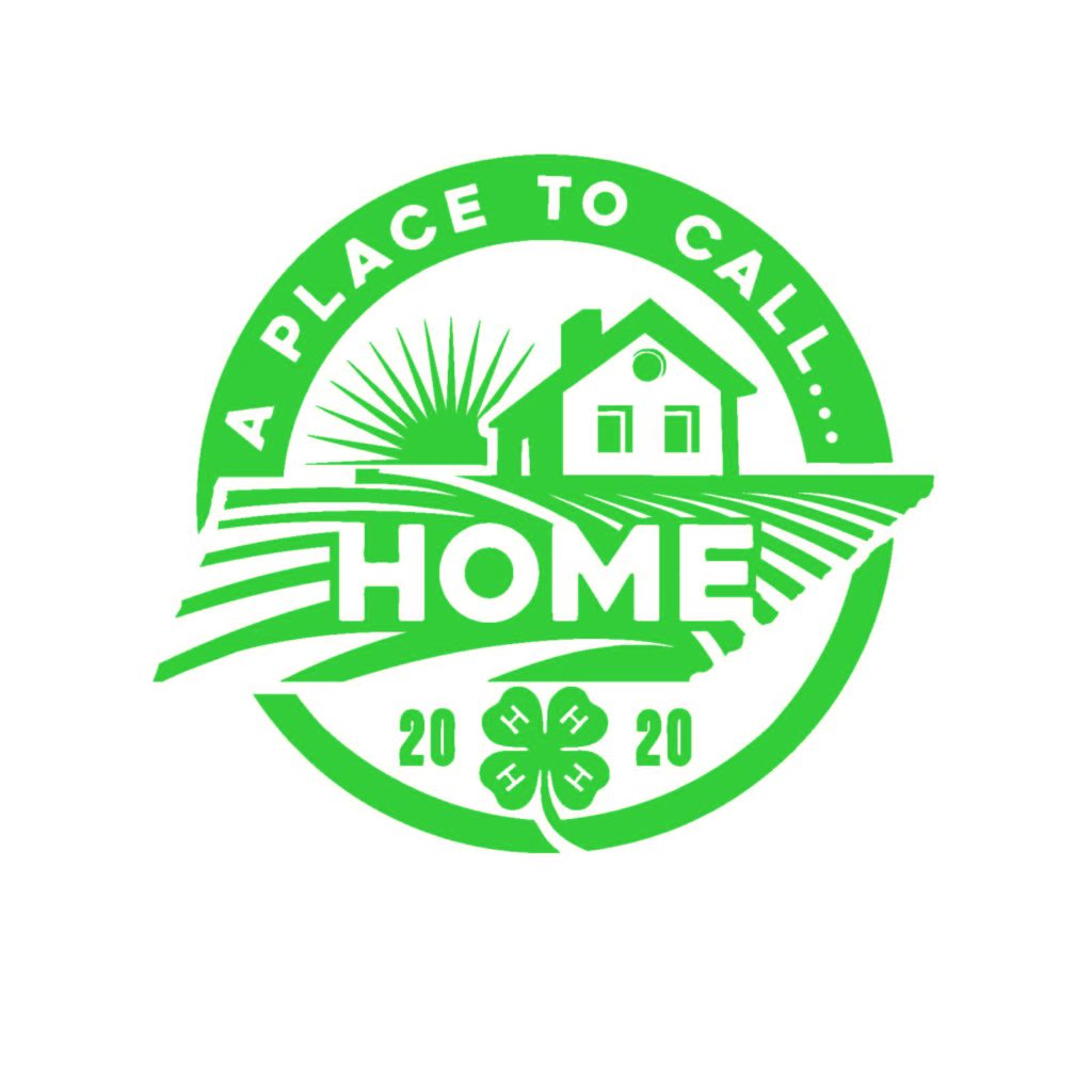 A Place To Call Home - 4-H 2020 Logo Green