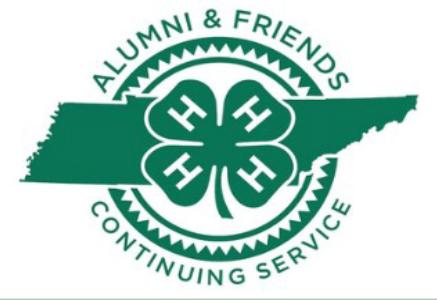 4-H Alumni and Friends Continuing Service