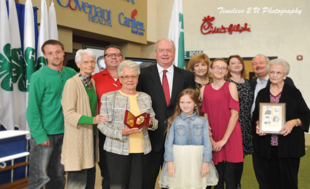 Anderson County 4-H Agriculture Hall of Fame - Meredith Family