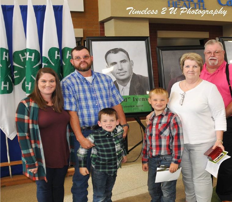 Anderson County 4-H Agriculture Hall of Fame - Ivens Family
