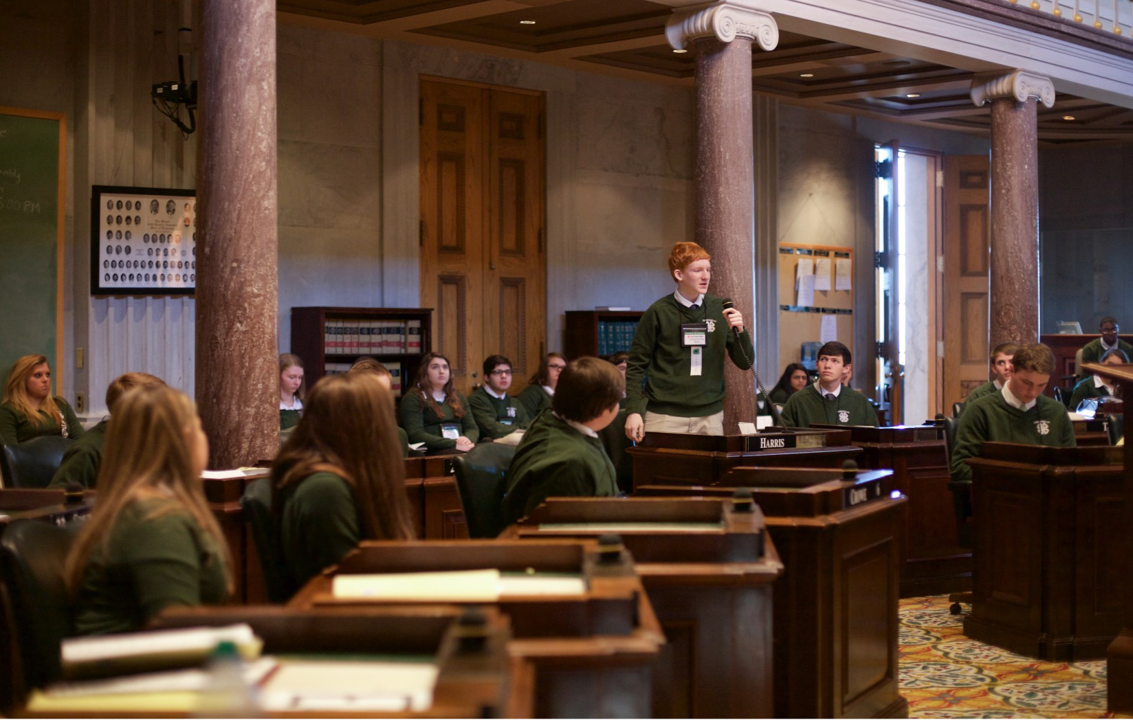 BILLS AND RESOLUTION READY FOR STATE 4-H CONGRESS