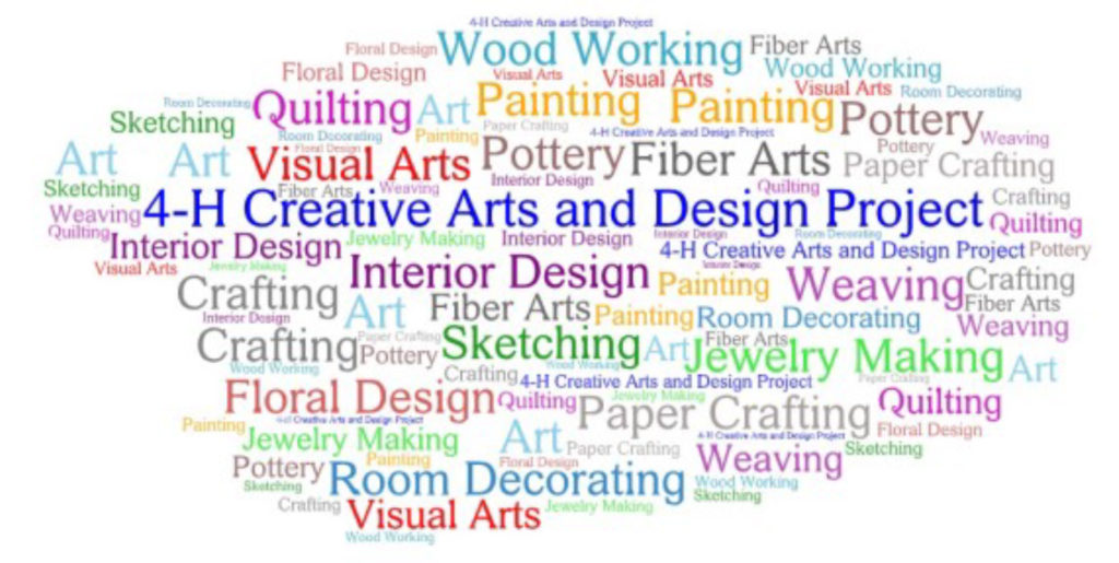 Take a New Look at the Clothing & Textiles and Creative Arts & Design Projects!!
