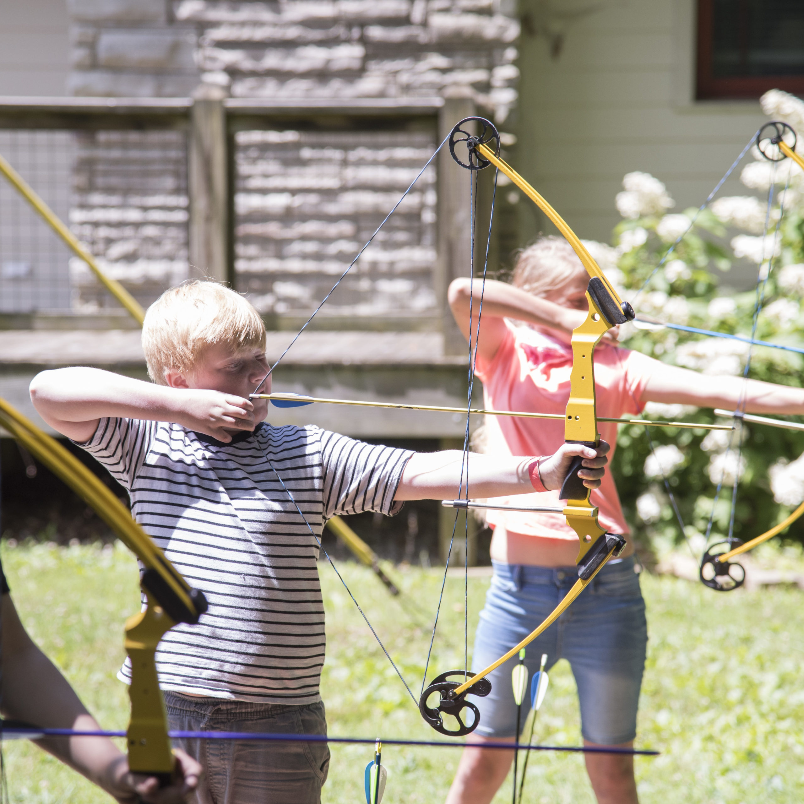 Archery at Clyde M York 4-H Camp