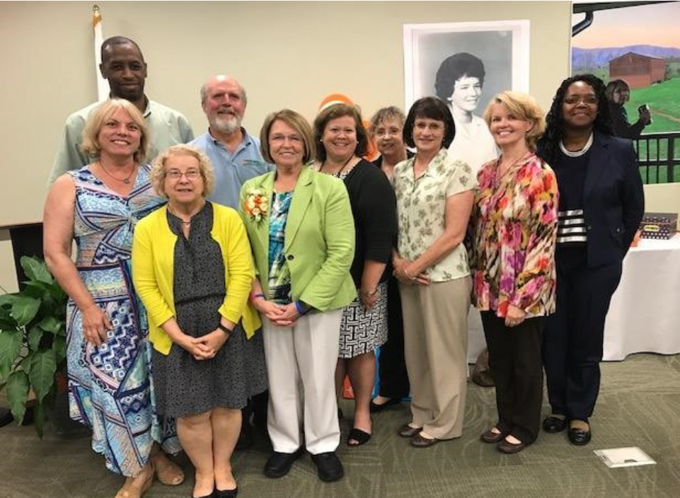 Connie Heiskell Retirement Party