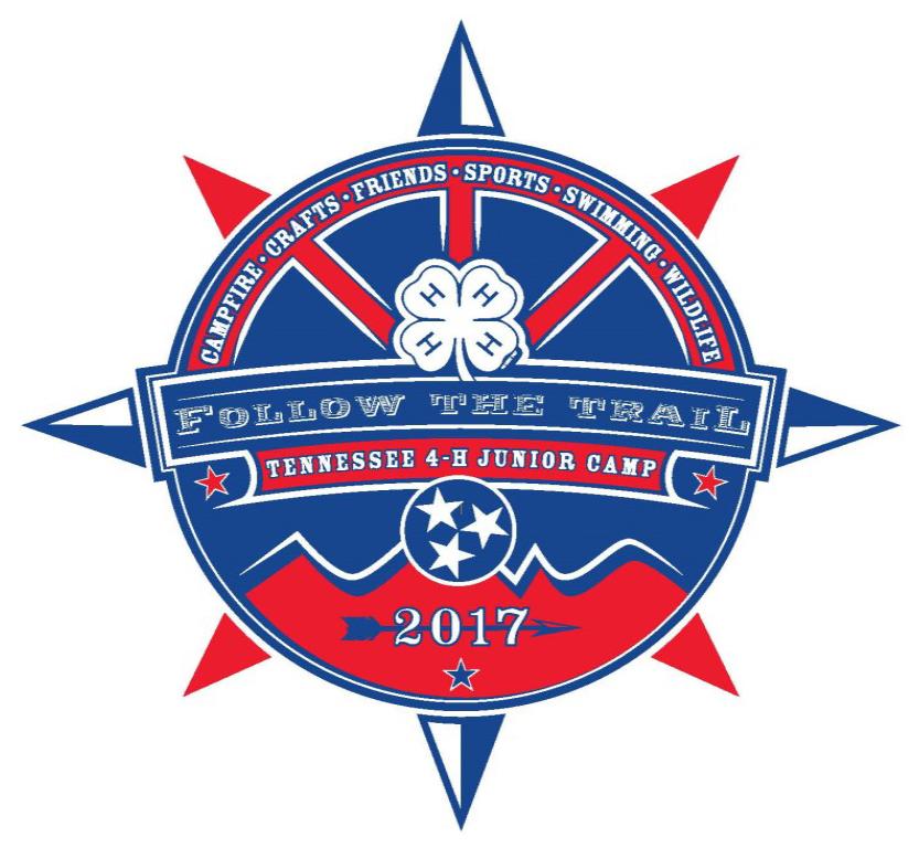 Junior 4-H Camp Theme and Logo