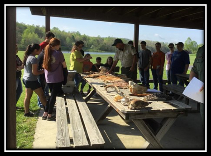 Current Grant Projects: Scott County[4-HMentoring Program]- Youth learned about mammals, what is considered a fur bearer, the difference between non game, small game, and big game animals, and much more.