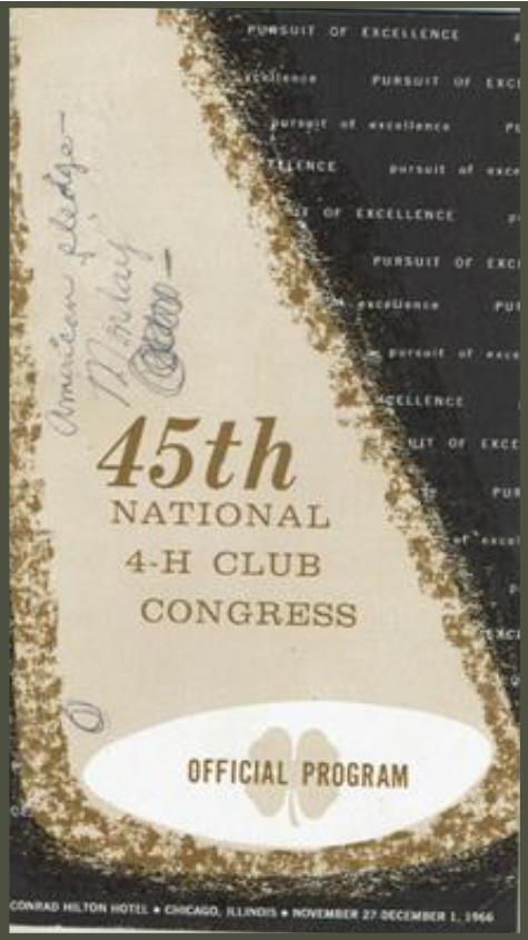 National 4-H Congress Week