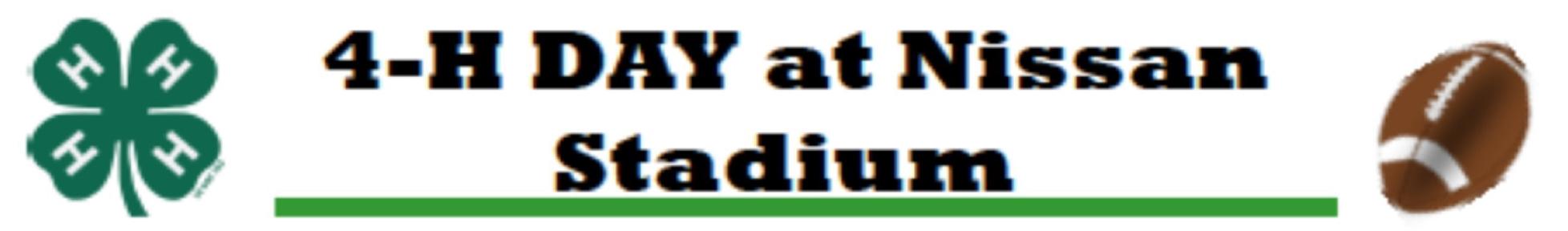 Nissan Stadium 4-H Day