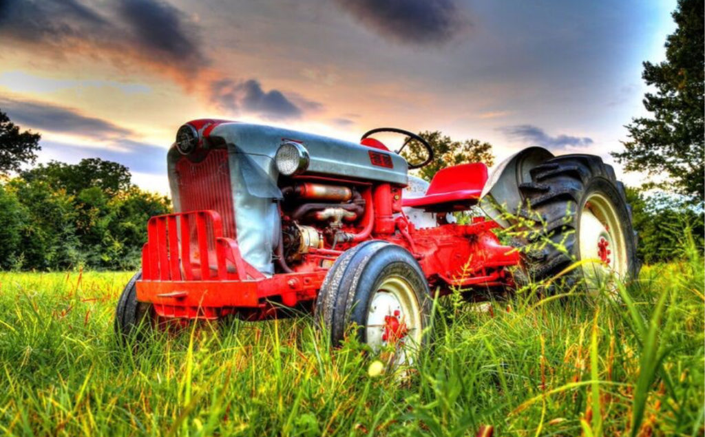 Photo Search - Old Red Tractor